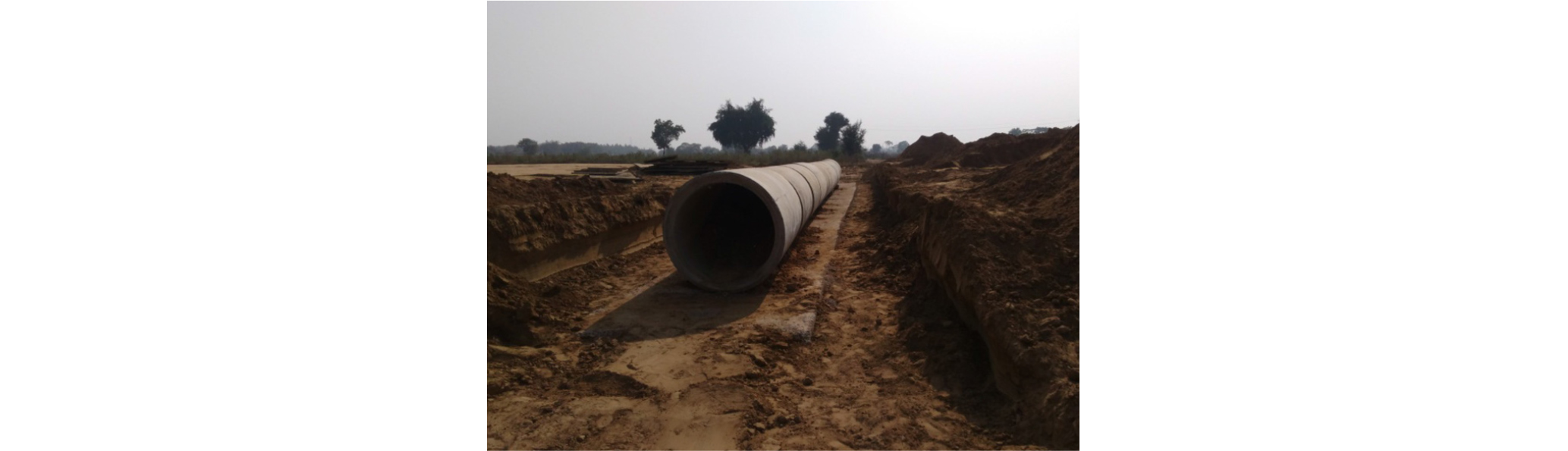 Forensic assessment of a fail head wall of Hume Pipe Culvert